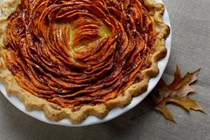 Persian-spiced sweet potato pie