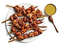 Peruvian chicken skewers (Anticuchos de pollo)
