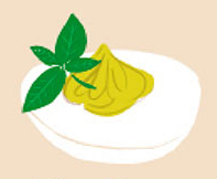 Pesto chango [deviled eggs]