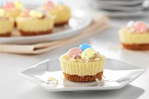 Philadelphia Easter mini cheesecakes
