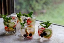 Pimm's punch
