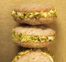Pistachio orange cookies