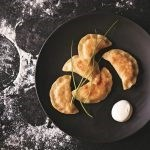 Polish dumplings with cheese and potatoes (Pierogi Ruskie)