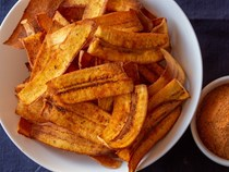 Pollo Campero–seasoned fried plantain chips