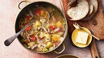 Pork and cabbage soup (Kapusniak)
