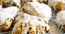 Pumpkin spice chocolate chip scones