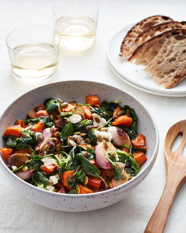 45b221a989da Quick and Easy Roasted Veggie Salad from The Kitchn