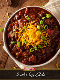 Quick n' easy chili
