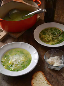 Quick spring soup