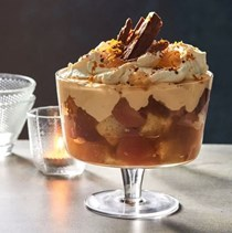 Quince, rosemary and honey trifle