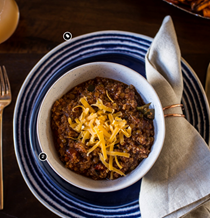 Quinoa and lentil chili