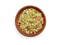 Quinoa and sprouts salad