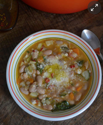 Rachel Roddy's autumn minestrone