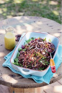 Red and wild rice salad [Frank and Albie's]