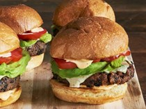 Ree Drummond's black bean burgers