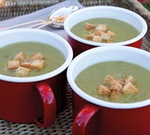 Rib-sticking pea and ham soup