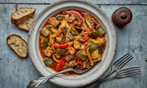 Richard Olney's ratatouille