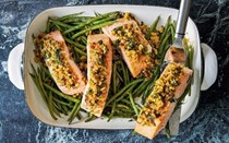 Roast salmon 