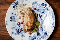 Roasted partridge with spätzle