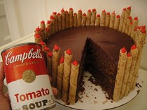 Rose Levy Beranbaum's chocolate tomato cake with mystery ganache (Cook the Book)