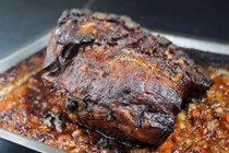 Rosemary braised pork