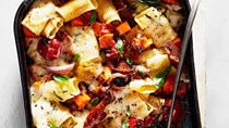 Sausage-and-rigatoni bake