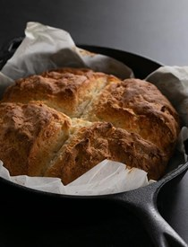 Savory gluten free Irish soda bread