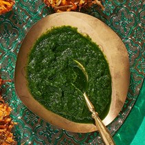 Scallion chutney