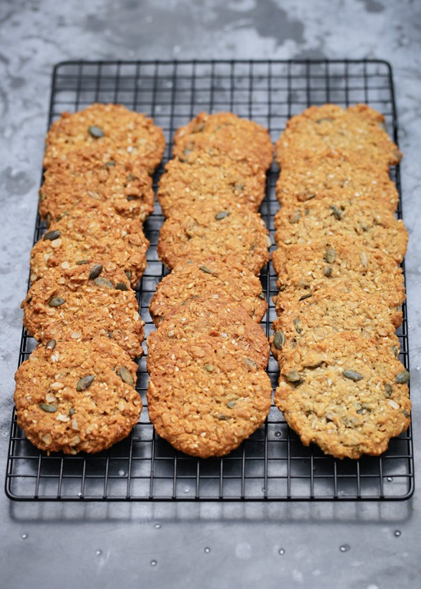 Good Food Anzac Biscuits