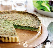 Sensational spinach tart