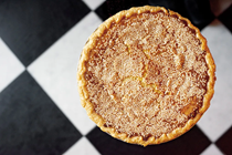 Sesame chess pie