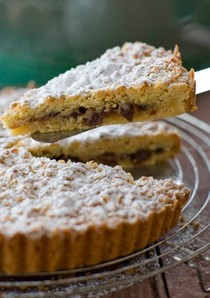 Shortbread and fruit mince pie