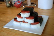 Simple spam musubi