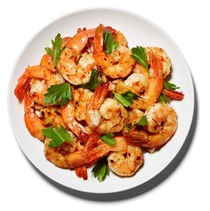 Simplest and best shrimp dish