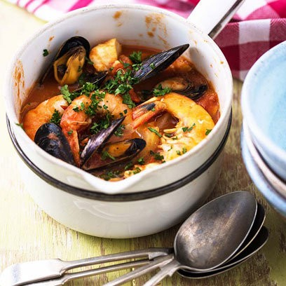 Skinny bouillabaisse recipe eat your books view larger forumfinder