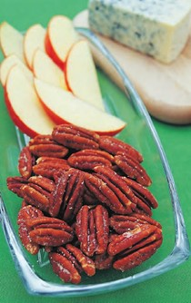 Slow-roasted Southern buttered pecans