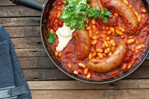 Smoky Mexican sausages