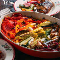 Smoky slow-roasted vegetables (Escalivada)