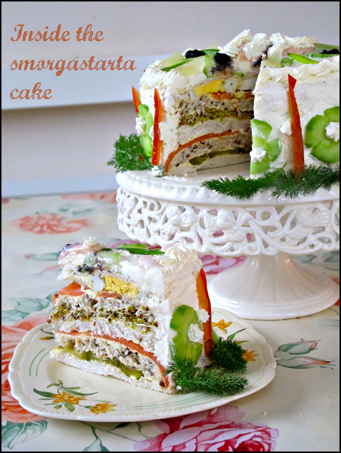 Smorgåstårta/sandwich cake recipe | Eat Your Books