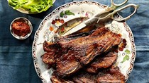 Soy-and-sesame short ribs