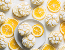 Spiced lemon crinkle sandwich cookies [cream cheese frosting]