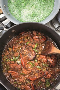 Spicy chilli with green beans