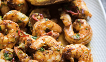 Spicy Portuguese shrimp with garlic (Shrimp Mozambique)