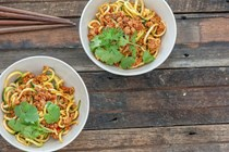 Spicy Sichuan pork & noodles