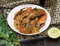 Spicy stir-fried mud crab