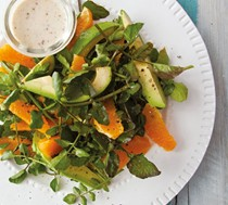 Spring watercress salad