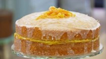 St Clement's orange and lemon drizzle cake