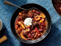 Steak fajita chili