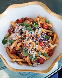 Strozzapreti with lamb ragù