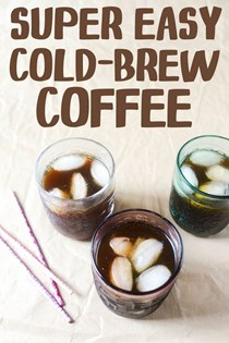 Super easy cold-brew coffee